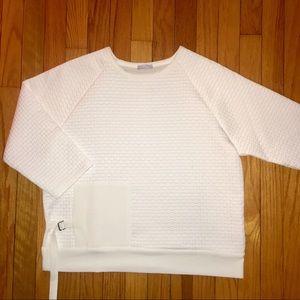 Zara B/W Collection White Top Medium